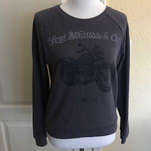 Levi's Cobalt Grey Crew Neck Sweatshirt